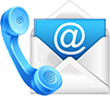 Hitech contact icon